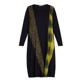 ALEMBIKA PANEL DRESS  - Plus Size Collection
