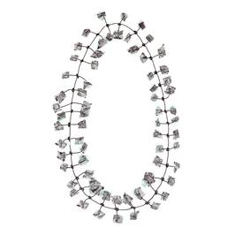 Annemieke Broenink turquoise lace NECKLACE - Plus Size Collection