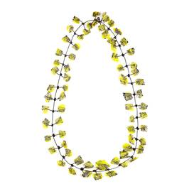 Annemieke Broenink yellow lace NECKLACE - Plus Size Collection