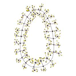 Annemieke Broenink yellow dot NECKLACE - Plus Size Collection