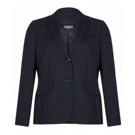 Basler navy pure wool suiting jacket - Plus Size Collection