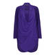 BEIGE CHIFFON FRONT WRAP TWINSET IN VIOLET
