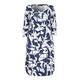 BEIGE geometric print DRESS