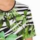 BEIGE PALM PRINT T-SHIRT GREEN