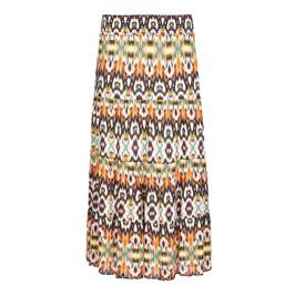 BEIGE LABEL TIERED MAXI SKIRT - Plus Size Collection