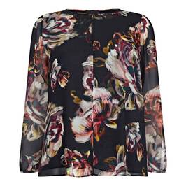 PERSONA BY MARINA RINALDI GEORGETTE BLOUSE - Plus Size Collection
