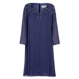 CAPRI DRESS BLUE - Plus Size Collection