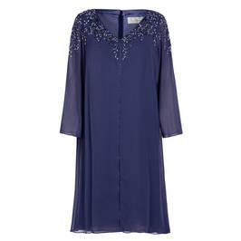 CAPRI DRESS BLUE - Plus Size Collection