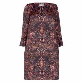 ELENA MIRO PAISLEY PRINT DRESS - Plus Size Collection