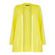 FABER KNITTED HOODED CARDIGAN YELLOW