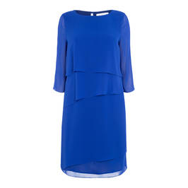 GAIA GEORGETTE LAYER DRESS - Plus Size Collection