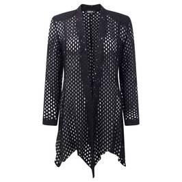 GEORGEDé black lace effect CARDIGAN - Plus Size Collection
