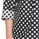 HABELLA PRINCESS CUT POLKA DOT JACKET