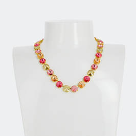 OPALESCENT SWAROVSKI CRYSTAL NECKLACE - Plus Size Collection