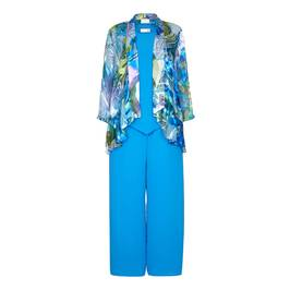 KIRSTEN KROG Turquoise OUTFIT - Plus Size Collection
