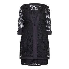 KIRSTEN KROG black lace JACKET & DRESS - Plus Size Collection