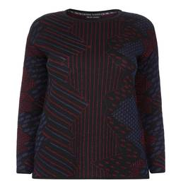 PER TE BY KRIZIA LUREX SWEATER - Plus Size Collection