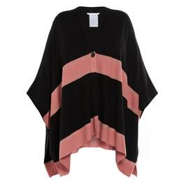 LUISA VIOLA CAPE BLACK - Plus Size Collection