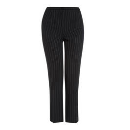 LUISA VIOLA PINSTRIPE TROUSERS - Plus Size Collection