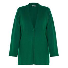 LUISA VIOLA CARDIGAN GREEN - Plus Size Collection