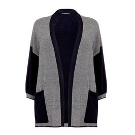 MARINA RINALDI CARDIGAN GREY - Plus Size Collection