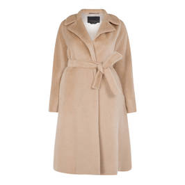 MARINA RINALDI ALPACA AND WOOL COAT - Plus Size Collection