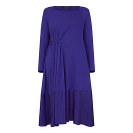 MARINA RINALDI JERSEY DRESS ULTRAMARINA - Plus Size Collection