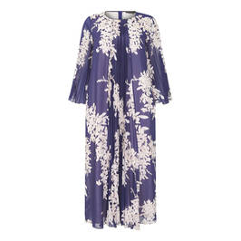 MARINA RINALDI PRINTED GEORGETTE DRESS - Plus Size Collection