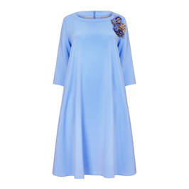 Marina Rinaldi blue DRESS - Plus Size Collection