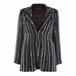 MARINA RINALDI SEQUIN BLAZER - Plus Size Collection