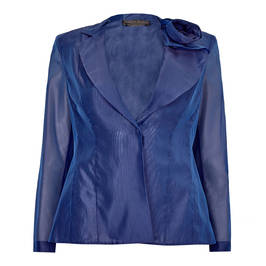 MARINA RINALDI SILK BLEND JACKET - Plus Size Collection