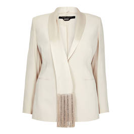 MARINA RINALDI SATIN JACKET - Plus Size Collection
