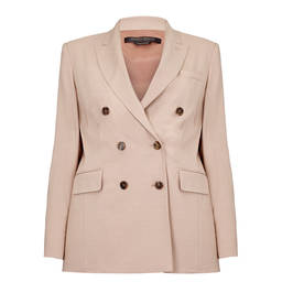 MARINA RINALDI DOUBLE BREASTED BLAZER - Plus Size Collection
