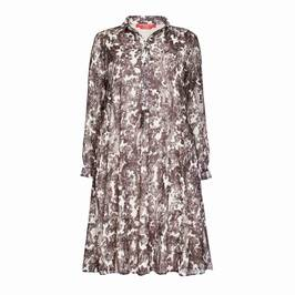 MARINA RINALDI GEORGETTE PAISLEY SHIRT DRESS - Plus Size Collection