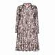 MARINA RINALDI GEORGETTE PAISLEY SHIRT DRESS
