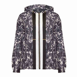 MARINA RINALDI PAISLEY HOODY - Plus Size Collection