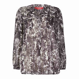 MARINA RINALDI PAISLEY GEORGETTE TUNIC - Plus Size Collection