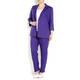 Marina Rinaldi violet tailored linen JACKET