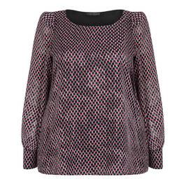 MARINA RINALDI PRINTED TUNIC - Plus Size Collection