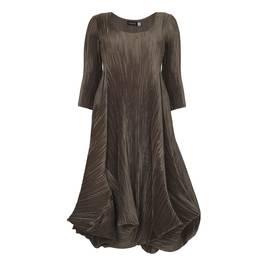 MASHIAH antique gold statement DRESS - Plus Size Collection