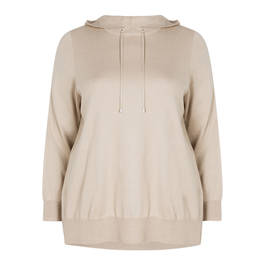 MAXIMA HOODED SWEATSHIRT - Plus Size Collection