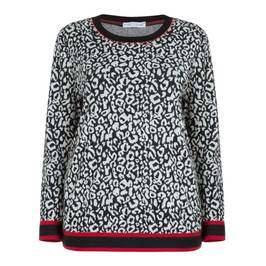 MAXIMA ANIMAL PRINT TOP - Plus Size Collection