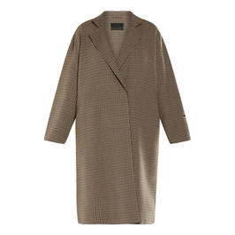 MARINA RINALDI VIRGIN WOOL COAT - Plus Size Collection