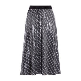 MARINA RINALDI SEQUIN SKIRT - Plus Size Collection