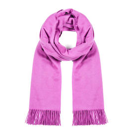 MARINA RINALDI CASHMERE STOLE MAGENTA  - Plus Size Collection