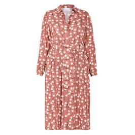 MARINA RINALDI FLORAL PRINT DRESS GINGER  - Plus Size Collection