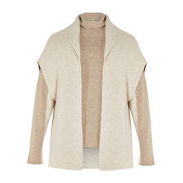 PIAZZA DELLA SCALA WOOL AND CASHMERE TWINSET - Plus Size Collection