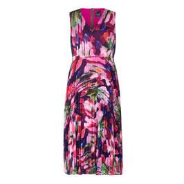 PERSONA BY MARINA RINALDI GEORGETTE DRESS FUCHSIA - Plus Size Collection