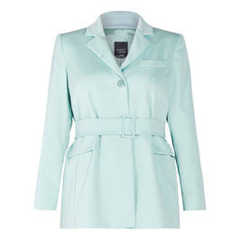 PERSONA BY MARINA RINALDI JACKET MINT - Plus Size Collection