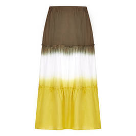 PERSONA BY MARINA RINALDI DIP DYE MAXI SKIRT - Plus Size Collection